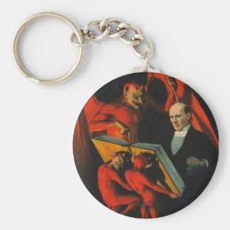 Harry Kellar Poster Keychain