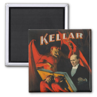 Harry Kellar Poster Magnet