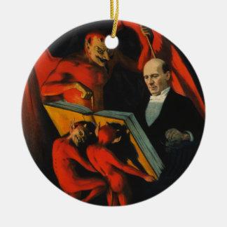 Harry Kellar Poster Ornament