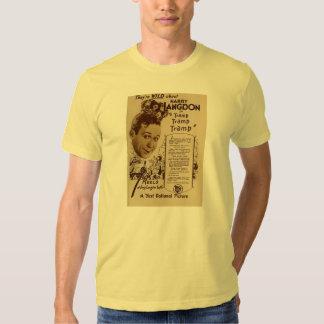 Harry Langdon 1926 silent movie comic exhibitor ad T-shirt