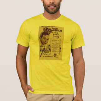 Harry Langdon 1926 silent movie comic exhibitor ad T-Shirt