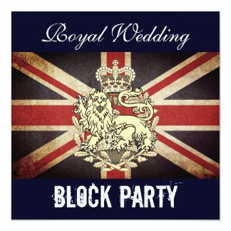 Harry & Meghan Royal Wedding Block Party Invite