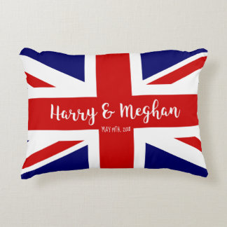 Harry & Meghan | Royal Wedding Commemoration Accent Pillow