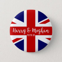 Harry & Meghan | Royal Wedding Commemoration Button