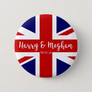 Harry & Meghan | Royal Wedding Commemoration Button
