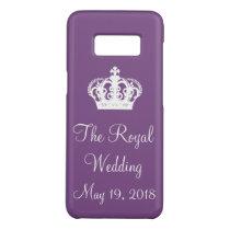Harry Meghan Royal Wedding Design Case-Mate Samsung Galaxy S8 Case