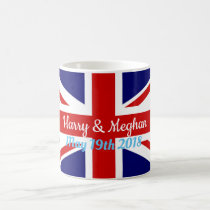 Harry & Meghan, Union Jack Coffee Mug