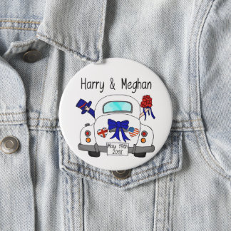 Harry & Meghan Wedding, May 19th 2018 Button