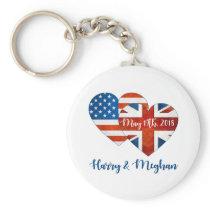 Harry & Meghan Wedding, May 19th 2018 Keychain