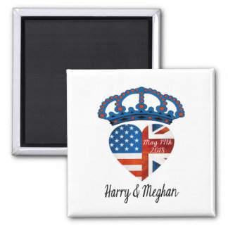 Harry & Meghan Wedding, May 19th 2018 Magnet