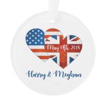 Harry & Meghan Wedding, May 19th 2018 Ornament
