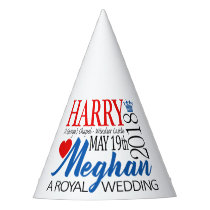 Harry & Meghan Wedding, May 19th 2018 Party Hat