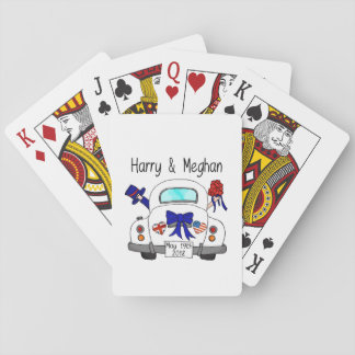 Harry & Meghan Wedding, May 19th 2018 Playing Cards
