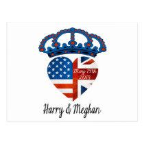 Harry & Meghan Wedding, May 19th 2018 Postcard