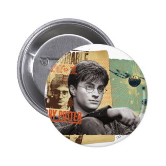 Harry Potter 13 Pin Redondo De 2 Pulgadas