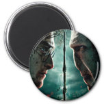 Harry Potter 7 Part 2 - Harry vs. Voldemort 2 Inch Round Magnet