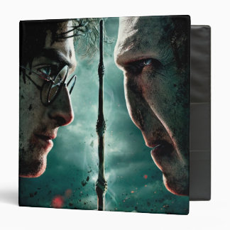 Harry Potter 7 Part 2 - Harry vs. Voldemort 3 Ring Binder