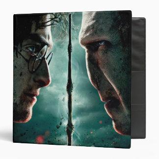 Harry Potter 7 Part 2 - Harry vs. Voldemort 3 Ring Binder
