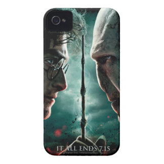 Harry Potter 7 Part 2 - Harry vs. Voldemort iPhone 4 Case-Mate Case