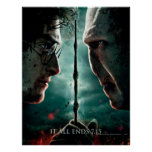 Harry Potter 7 Part 2 - Harry vs. Voldemort Poster