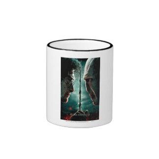 Harry Potter 7 Part 2 - Harry vs. Voldemort Ringer Coffee Mug