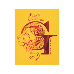 Gryffindor Lion Art Wall Decor Zazzle I'm talking about gryffindor, with its colorful lion crest, as seen here. gryffindor lion art wall decor zazzle