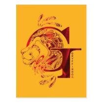 Harry Potter   Aguamenti GRYFFINDOR™ Graphic Postcard