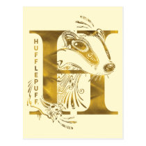 Harry Potter   Aguamenti HUFFLEPUFF™ Graphic Postcard