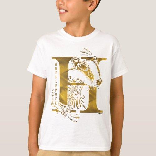 Harry Potter  Aguamenti HUFFLEPUFFâ Graphic T_Shirt