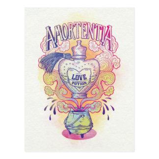 Harry Potter   Amortentia Love Potion Bottle Postcard