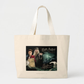 Harry Potter and Dumbledore Large Tote Bag
