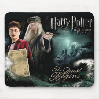 Harry Potter and Dumbledore Mouse Pad
