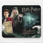 Harry Potter and Dumbledore Mousepads