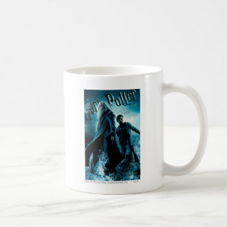 Harry Potter and Dumbledore on rocks 1 Coffee Mugs