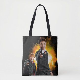 Harry Potter and Ron Weasely Tote Bag