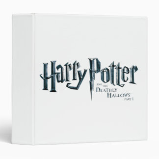 Harry Potter and the Deathly Hallows Logo 1 2 3 Ring Binder