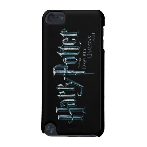 Harry Potter and the Deathly Hallows Logo 1 2 iPod Touch (5th Generation) Case
