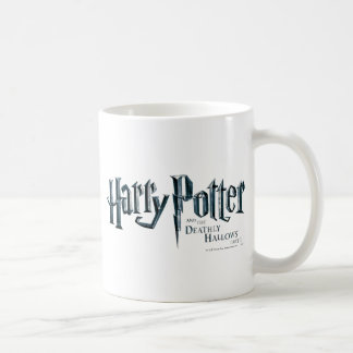 Harry Potter and the Deathly Hallows Logo 1 2 Classic White Coffee Mug