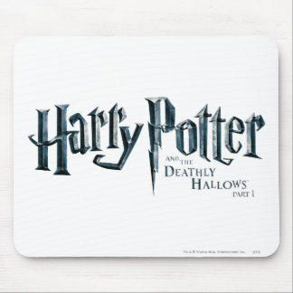 Harry Potter and the Deathly Hallows Logo 1 2 Mouse Pad