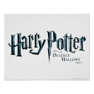 Harry Potter and the Deathly Hallows Logo 1 2 Poster