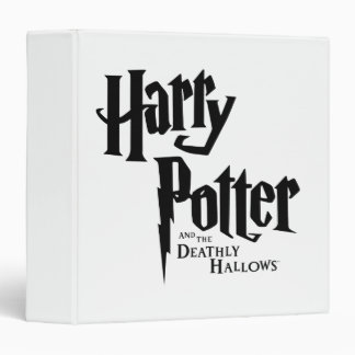 Harry Potter and the Deathly Hallows Logo 2 Binder