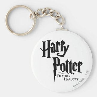 Harry Potter and the Deathly Hallows Logo 2 Keychain
