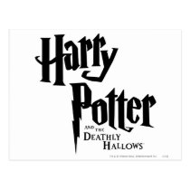 Harry Potter and the Deathly Hallows Logo 2 Postcard