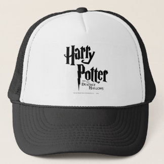 Harry Potter and the Deathly Hallows Logo 2 Trucker Hat