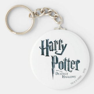 Harry Potter and the Deathly Hallows Logo 3 Basic Round Button Keychain
