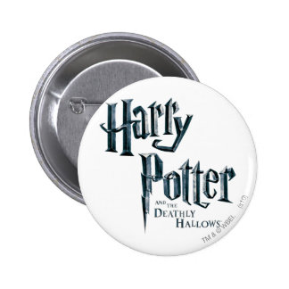 Harry Potter and the Deathly Hallows Logo 3 Button