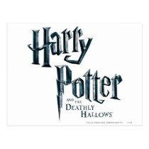 Harry Potter and the Deathly Hallows Logo 3 Postcard