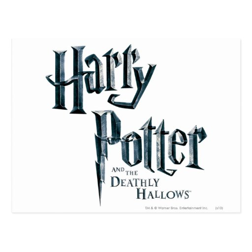 Harry Potter and the Deathly Hallows Logo 3 Post Cards