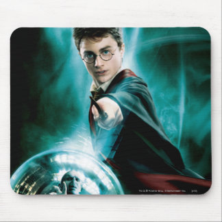 Harry Potter and Voldemort Only One Can Survive Mouse Pad