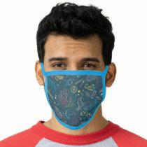 HARRY POTTER™ Artifacts Line Art Pattern Face Mask